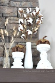Inspiring Rustic Fall Mantel Decoration Ideas 28