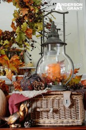 Inspiring Rustic Fall Mantel Decoration Ideas 41