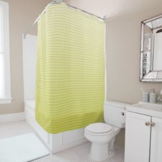 Lovely Sunny Yellow Bathroom Design Ideas 03