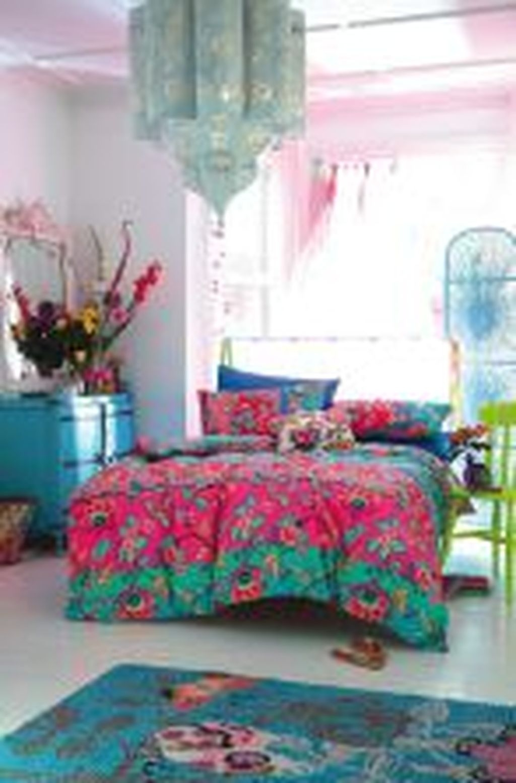 Refined Boho Chic Bedroom Design Ideas37