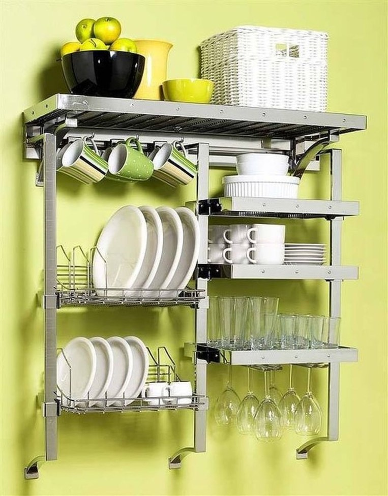 Small And Creative Dish Racks And Drainers Ideas13