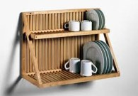Small And Creative Dish Racks And Drainers Ideas27