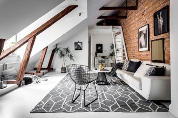 Totally Cool Tiny Apartment Loft Space Ideas 07