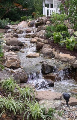 Totally Inspiring Backyard Waterfall Ideas On A Budget 06