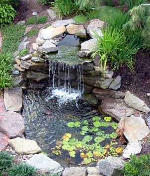 Totally Inspiring Backyard Waterfall Ideas On A Budget 34