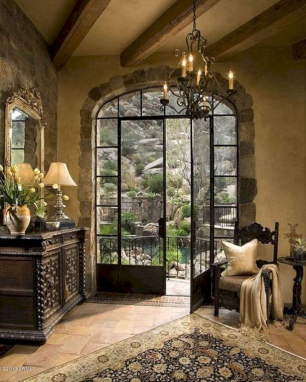 Amazing French Country Home Decoration Ideas 22