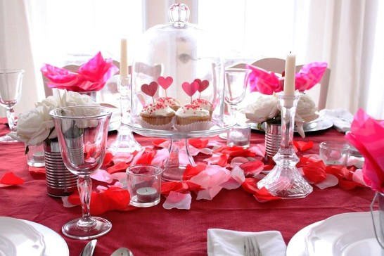 Best Ideas Decorate Dining Room Table Valentines 18