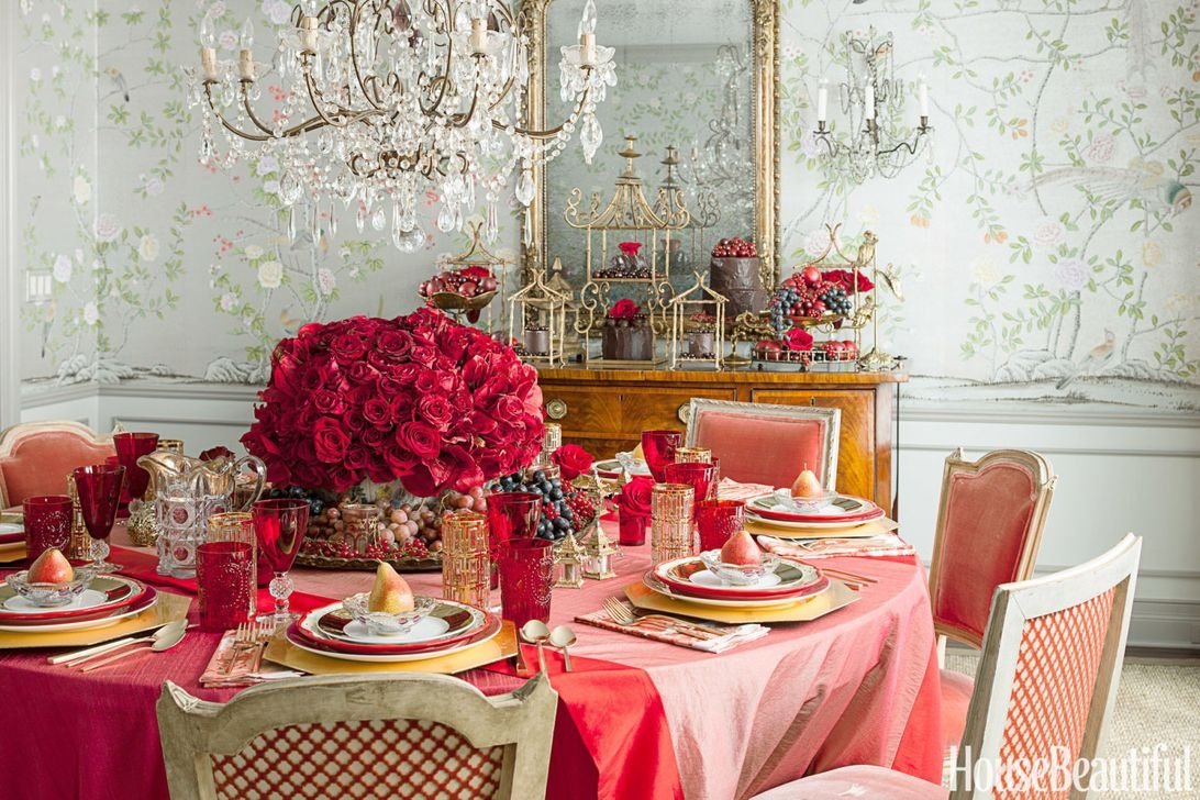 Best Ideas Decorate Dining Room Table Valentines 30