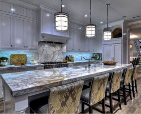 Best Porcelain Slab Countertops Design Ideas For Your Kitchen 15