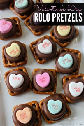 Cute Easy Valentine Candy Decorations 33