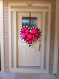 Cute Valentine Door Decoration Ideas You Should Try 09