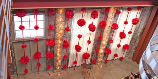 Cute Valentines Day Wedding Decoration Ideas 11
