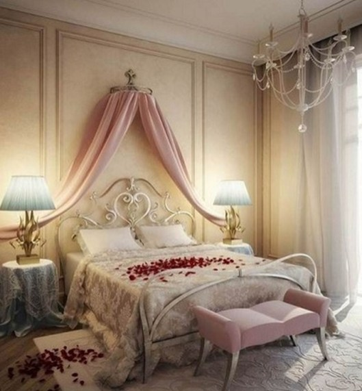 Romantic Bedroom Decorating Ideas For Valentines Day 04