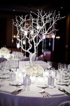 Stylish Winter Centerpiece Decoration Ideas 21