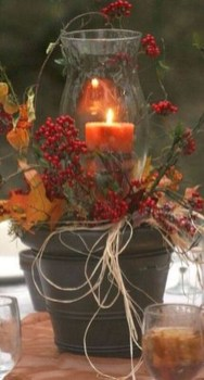 Stylish Winter Centerpiece Decoration Ideas 22