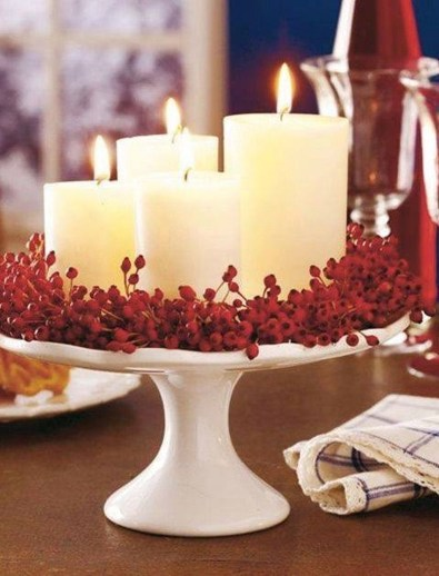 Stylish Winter Centerpiece Decoration Ideas 34