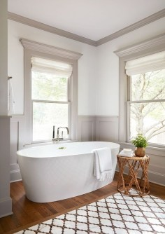 Adorable Modern Farmhouse Bathroom Remodel Ideas 40