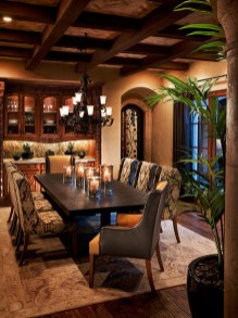Amazing Rustic Dining Room Table Decor Ideas 11
