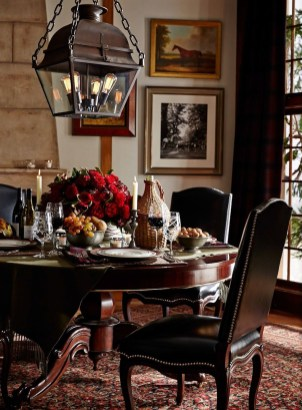 Amazing Rustic Dining Room Table Decor Ideas 27