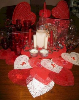Amazing Valentine Decoration Ideas For Your Apartment 26