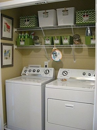 Awesome Laundry Room Storage Organization Ideas 09