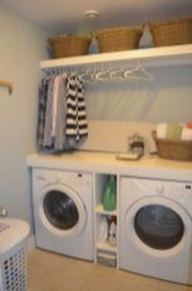 Awesome Laundry Room Storage Organization Ideas 30