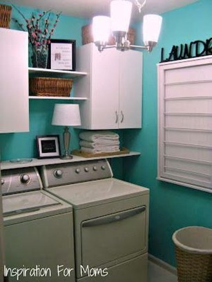 Awesome Laundry Room Storage Organization Ideas 33