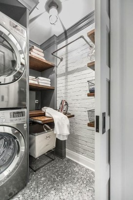 Awesome Laundry Room Storage Organization Ideas 34