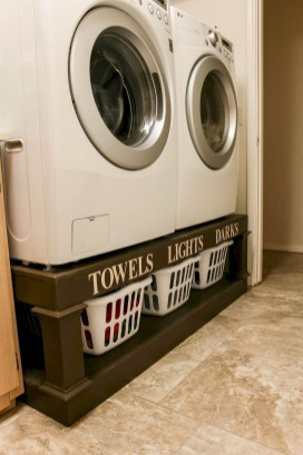 Awesome Laundry Room Storage Organization Ideas 36