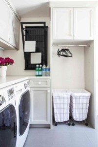 Awesome Laundry Room Storage Organization Ideas 37