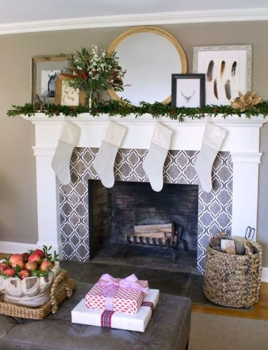 Best Valentines Fire Pit Mantel Decorating Ideas 24