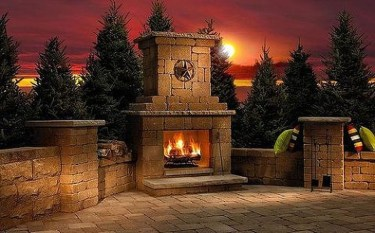 Best Valentines Fire Pit Mantel Decorating Ideas 32