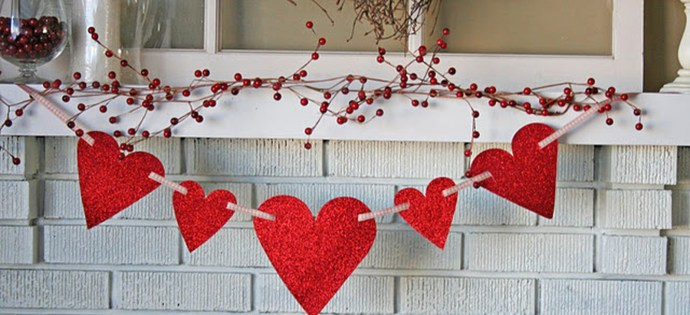 Best Valentines Fire Pit Mantel Decorating Ideas 47