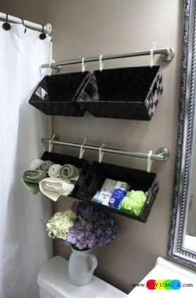 Brilliant Small Bathroom Storage Organization Ideas 18