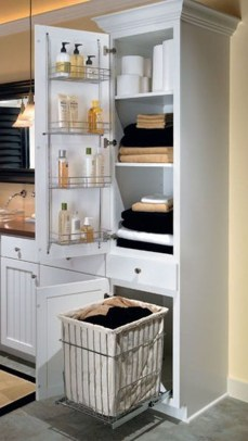 Brilliant Small Bathroom Storage Organization Ideas 36