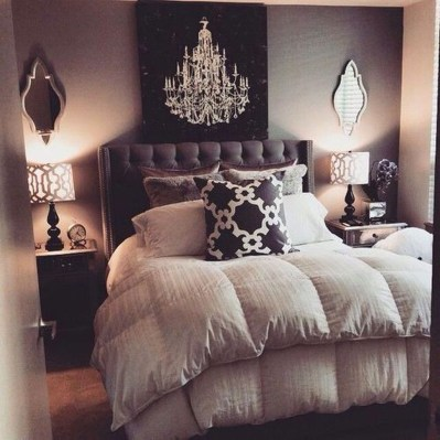 Cool Small Master Bedroom Decorating Ideas 35