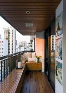 Cozy Apartment Balcony Decorating Ideas 29