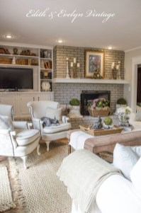 Cozy French Country Living Room Decor Ideas 21