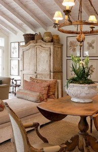Cozy French Country Living Room Decor Ideas 22
