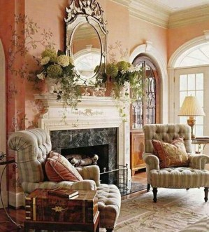 Cozy French Country Living Room Decor Ideas 33
