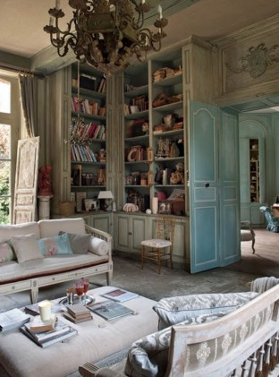 Cozy French Country Living Room Decor Ideas 51