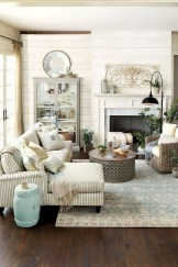 Cute Shabby Chic Farmhouse Living Room Decor Ideas 13