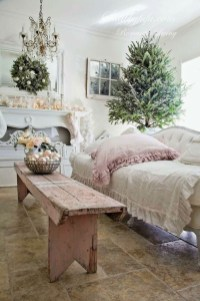 Cute Shabby Chic Farmhouse Living Room Decor Ideas 19