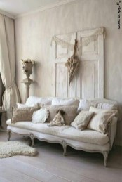 Cute Shabby Chic Farmhouse Living Room Decor Ideas 50