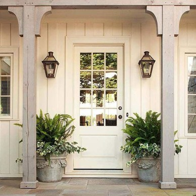 Elegant Farmhouse Front Porch Decor Ideas 15