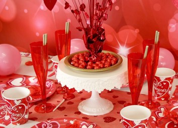 Inspiring Table Decoration Ideas For Valentines Party 03