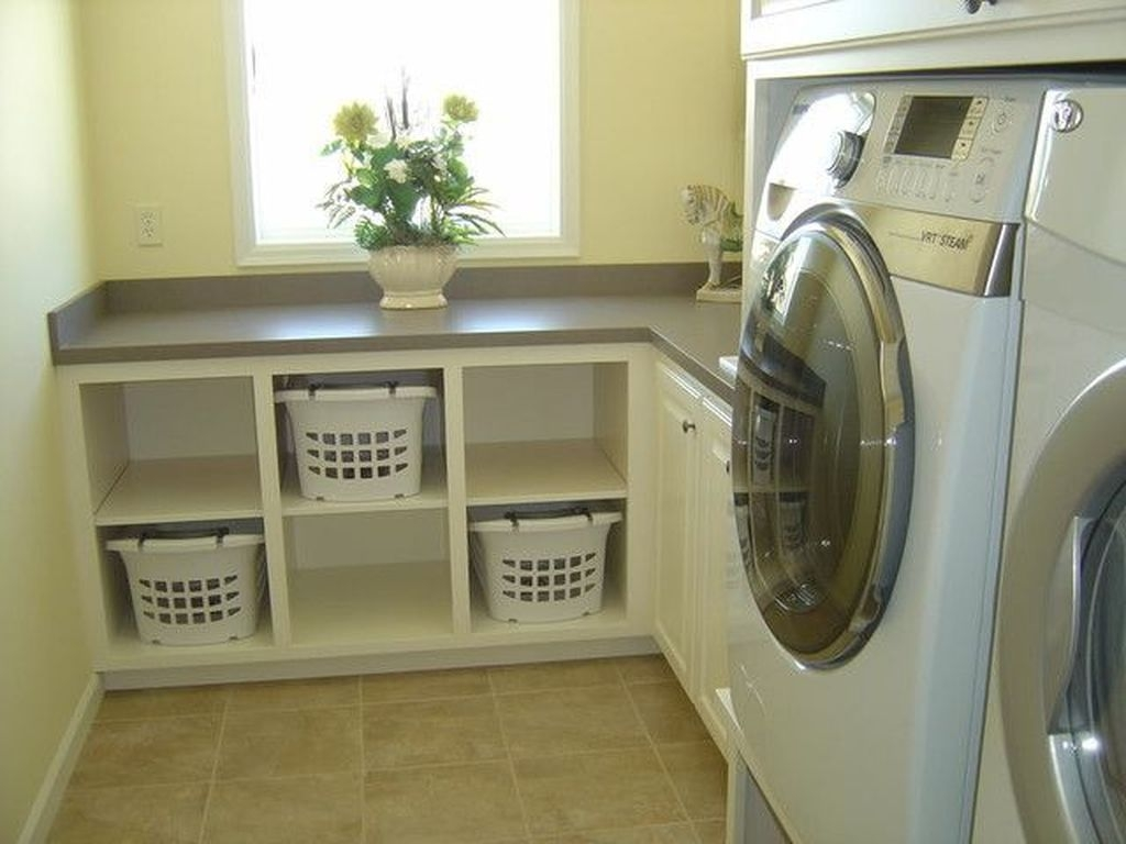 Totally Inspiring Small Functional Laundry Room Ideas 06