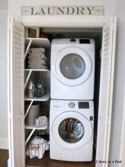Totally Inspiring Small Functional Laundry Room Ideas 18