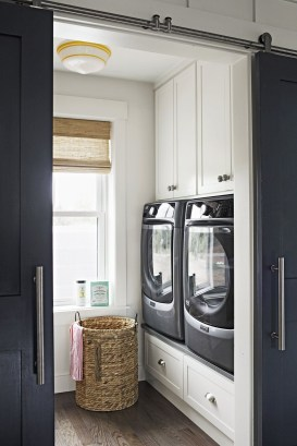 Totally Inspiring Small Functional Laundry Room Ideas 43