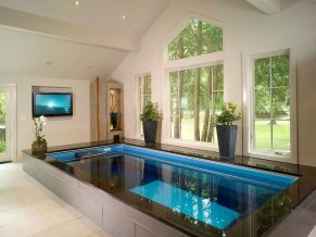 Adorable Small Indoor Swimming Pool Design Ideas 08